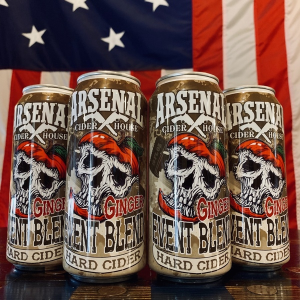 2020 Arsenal Cider Event Blend Ginger (4-Pack)