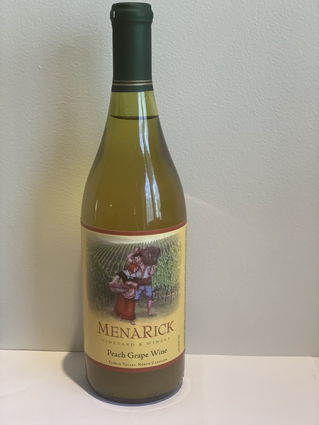 2019 Peach Grape Wine