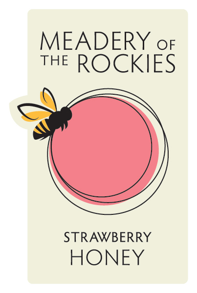 Product Image for Meadery of the Rockies Strawberry Honey