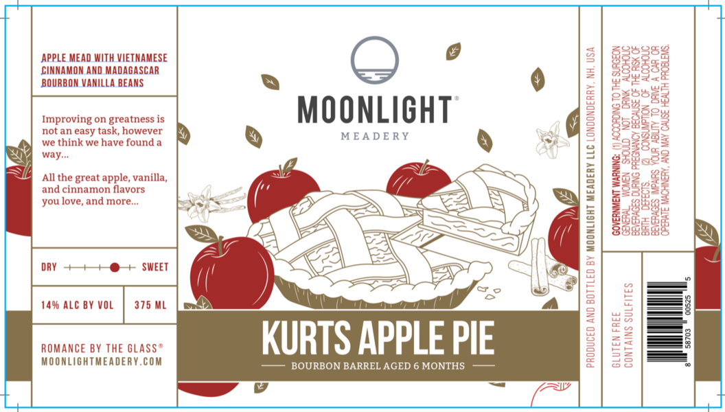 Product Image for 2019 Bourbon Barrel Aged Kurt's Apple Pie