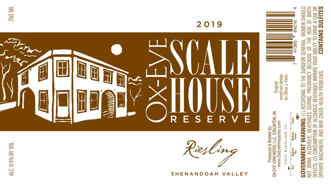 2019 Scale House Reserve Riesling