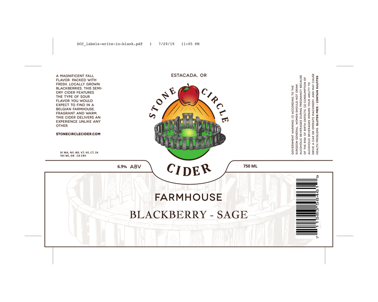 Farmhouse Blackberry-Sage