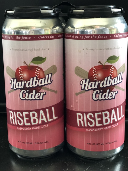 2020 Hardball Cider | Riseball Raspberry Hard Cider