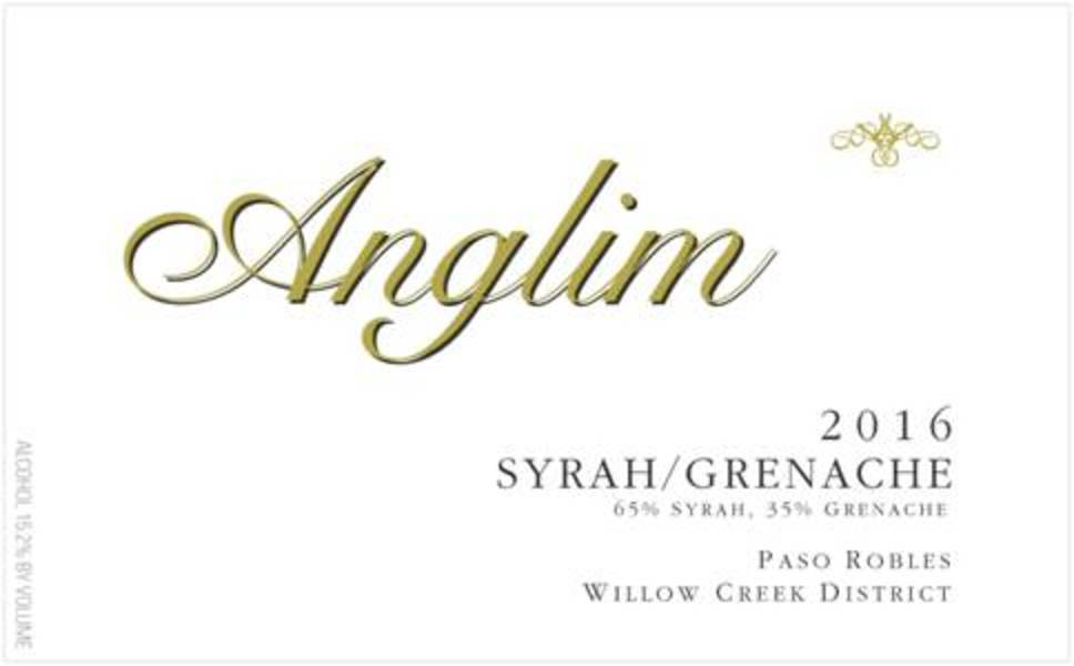 Product Image for 2016 Syrah / Grenache, Paso Robles Willow Creek District