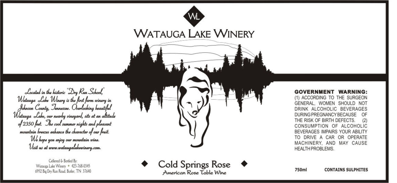 2018 Cold Springs Rose