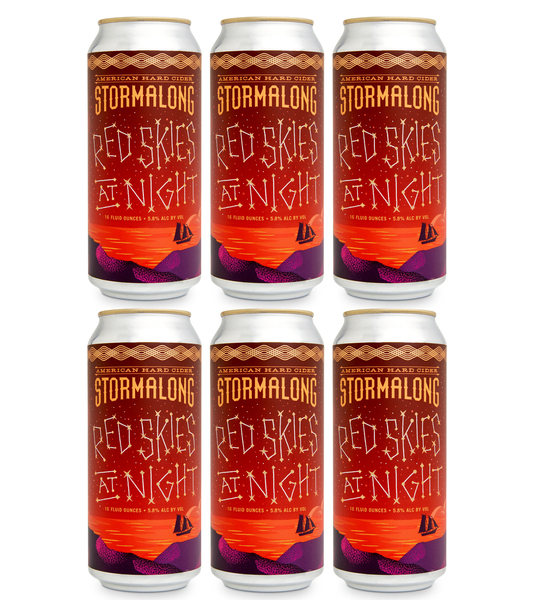 Red Skies at Night - 6 Cans (includes shipping)