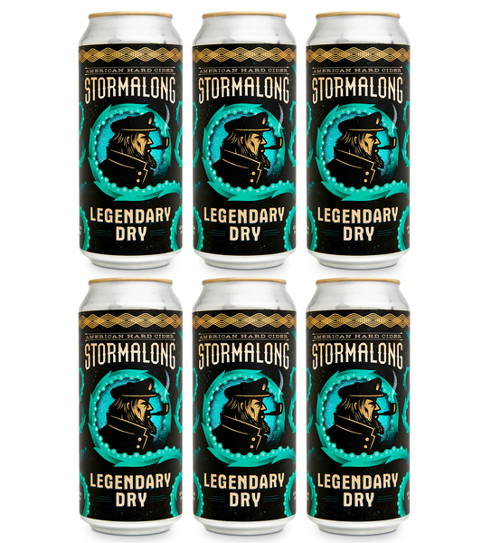 Legendary Dry - 6 Cans (includes shipping)