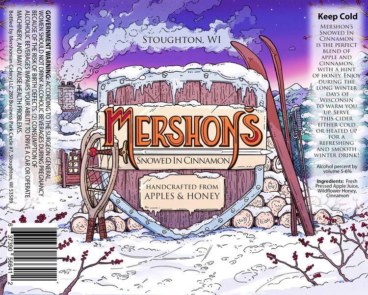 Product Image for Mershon's Snowed In Cinnamon