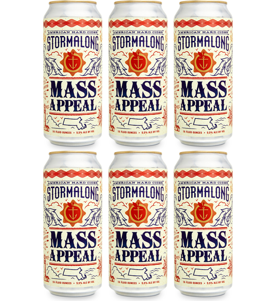 Mass Appeal - 6 Cans (includes shipping)