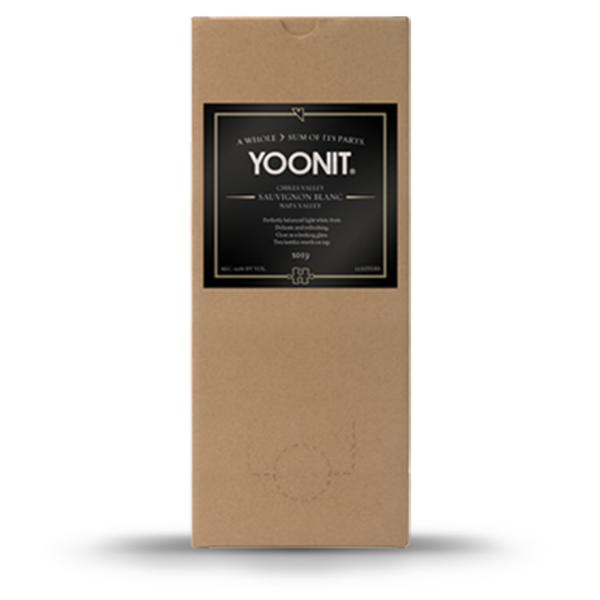 2019 Yoonit Sauvignon Blanc - Chiles Valley - 1.5L - Two bottles worth