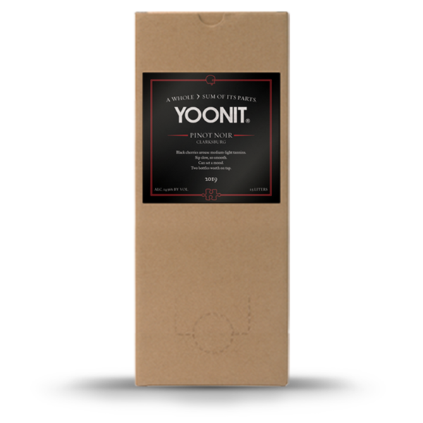 2019 Yoonit Pinot Noir - Clarksburg - 1.5L - Two bottles worth