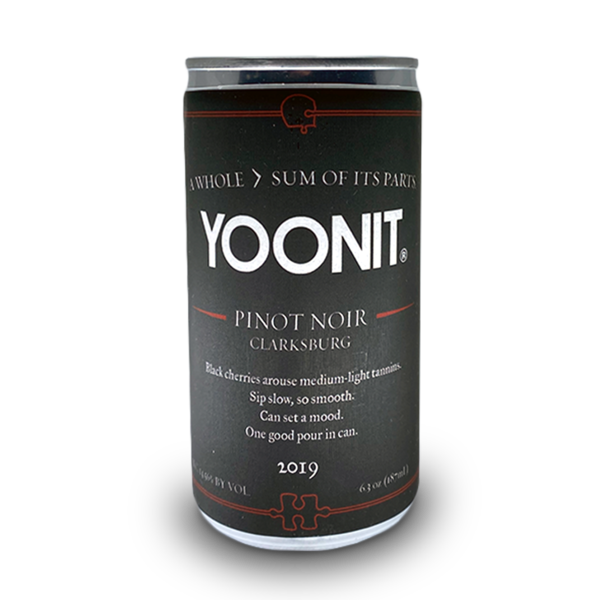 2019 Yoonit Pinot Noir - 1.5 Bottles worth - 6 x 187mL Cans