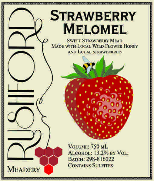 Product Image for 2018 Strawbery Melomel - 750mL