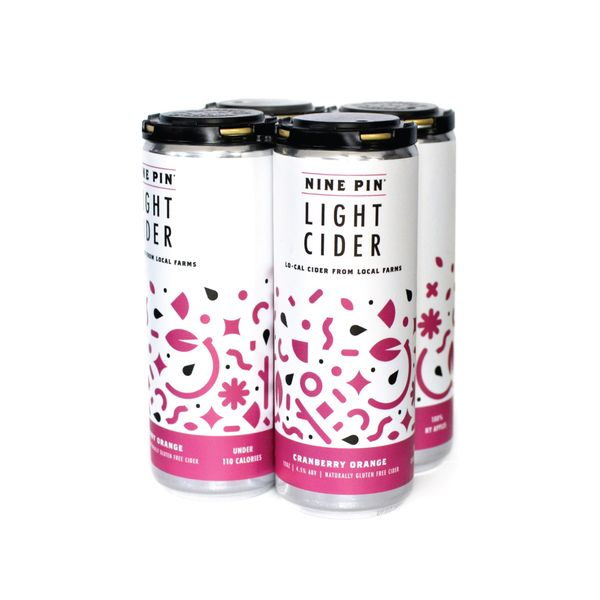 Cranberry Orange Light Cider (3 4-packs) SHIPPING INCLUDED