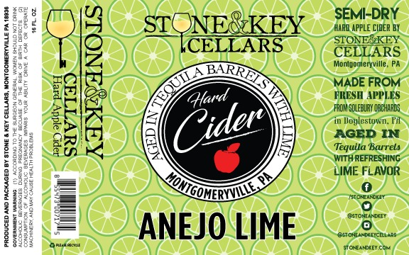 2019 Añejo Lime (Hard Cider)