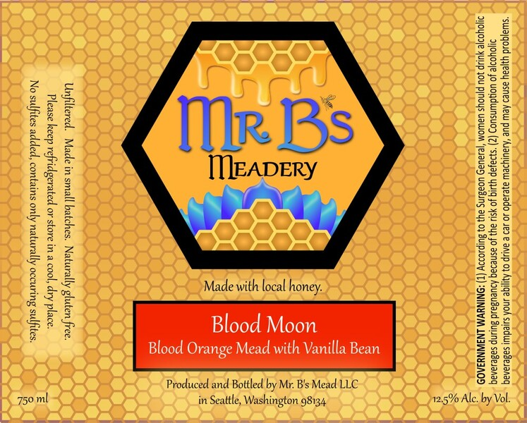 2020 Blood Moon - Lightly Sweet Mead