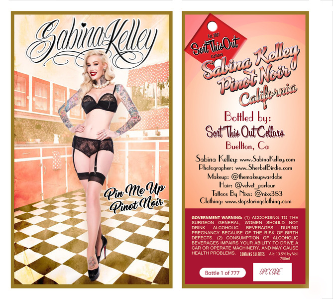 Product Image for 2016 Sabina Kelley Pin Me Up Pinot Noir