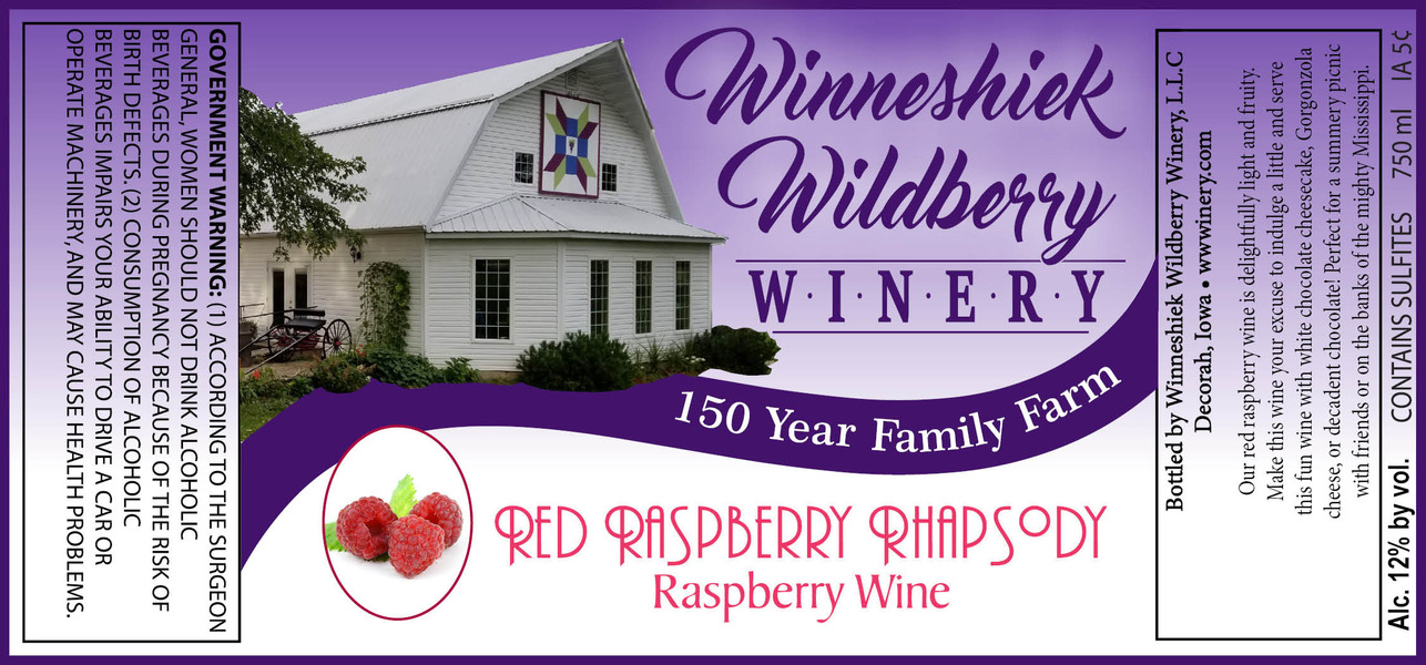 2019 Red Raspberry Rhapsody