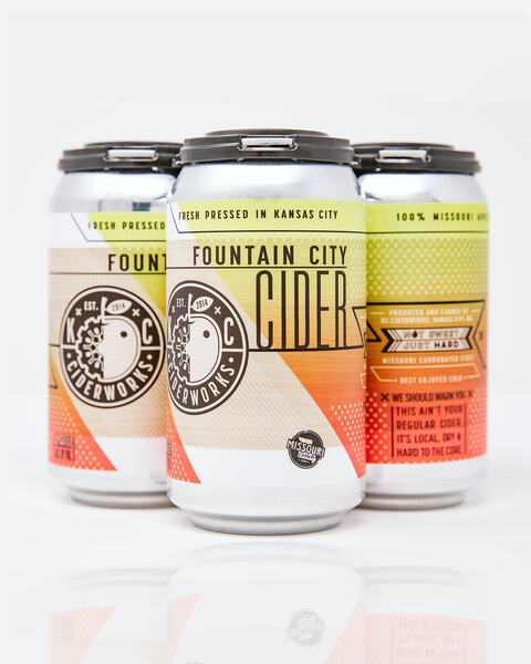 Fountain City Cider 4-pack