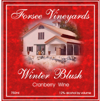 Product Image for 2012 Winter Blush Cranberry Wine