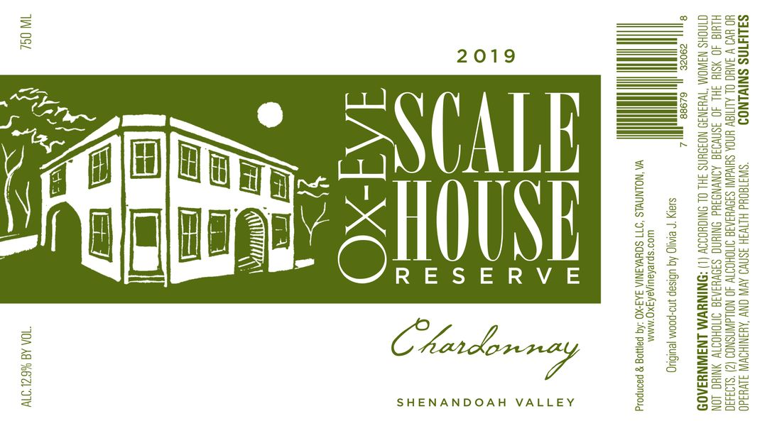 2019 Scale House Reserve Chardonnay