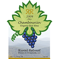 Product Image for 2009 Chambourin Red