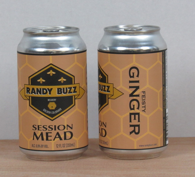 2019 Feisty Ginger Session Mead cans