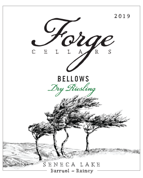 Product Image - 2019 Bellows Dry Riesling