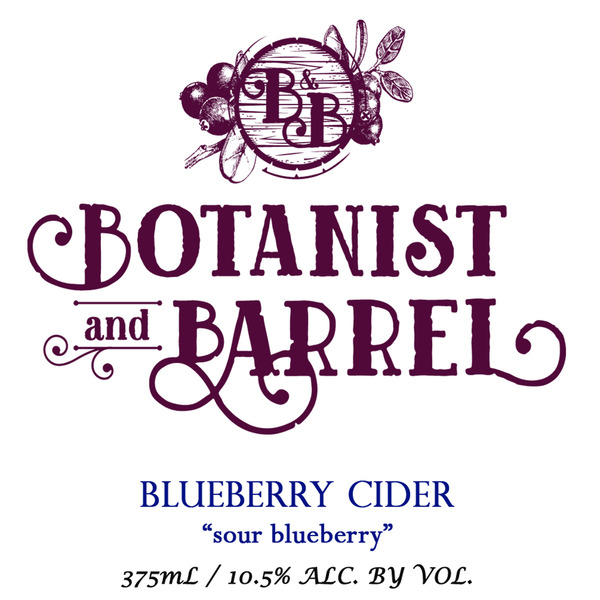 Product Image for 2018 Sour Blueberry Cider
