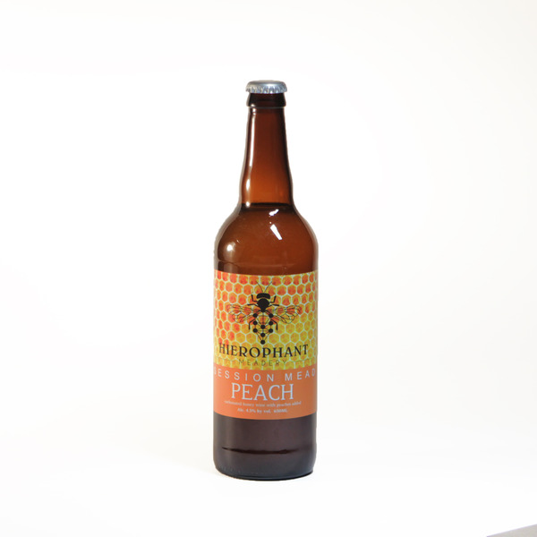 Peach Session Mead 650ML from Hierophant Meadery LLC