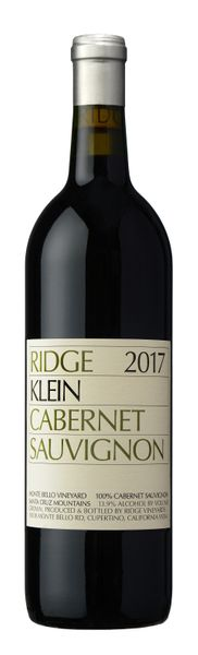 2017 Ridge Vineyards Klein Cabernet