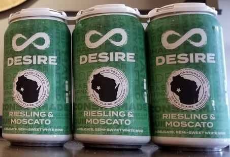 Desire Canned Wine (3-Pack)