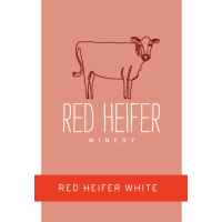 Red Heifer White (off dry vidal blanc)