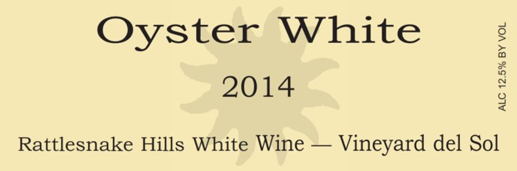 2014 Oyster White