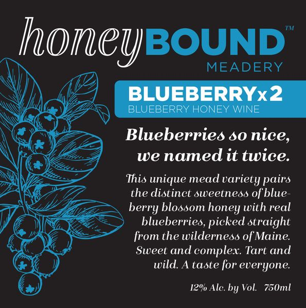 Honey Bound Blueberry (x2) Mead
