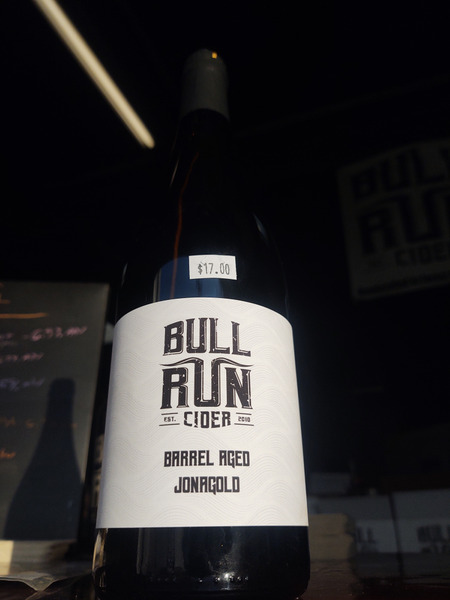 2017 Barrel-Aged Jonagold Single Varietal