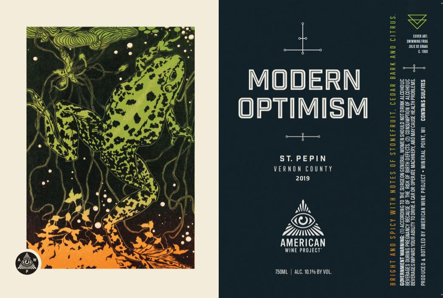 2019 Modern Optimism St. Pepin