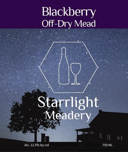 Product Image for Off-Dry Blackberry Mead