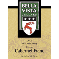 Product Image for 2012 Cabernet Franc