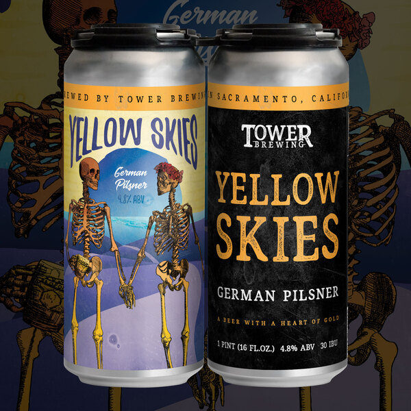 2020 Yellow Skies German Pilsner 4 Pack