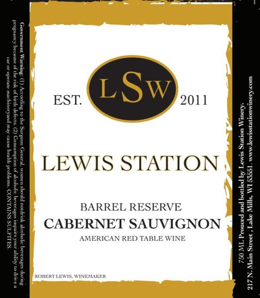 Product Image for Barrel Reserve Cabernet Sauvignon