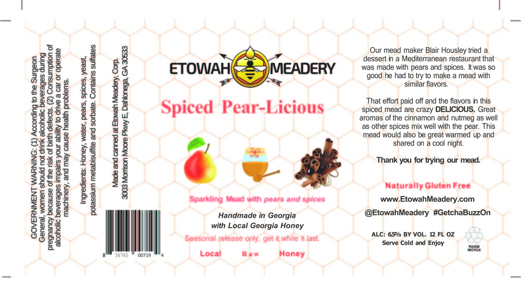 Product Image for 2018 Sparkling Spiced Pear-Licious