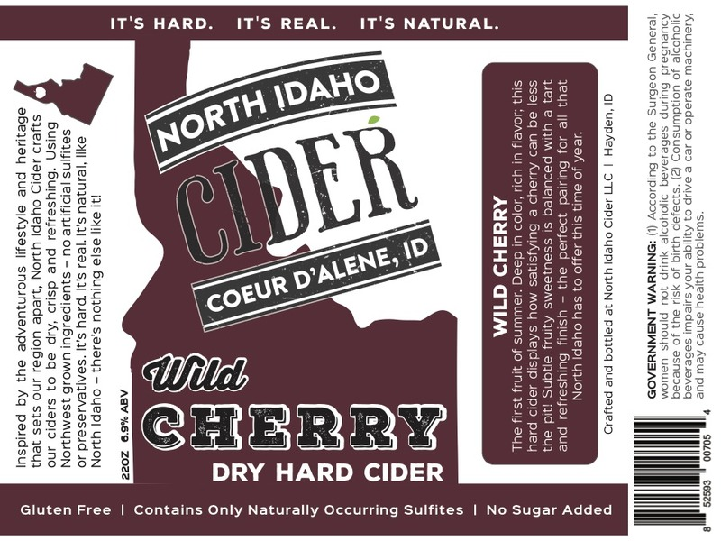 Product Image for 2017 North Idaho Wild Cherry Cider