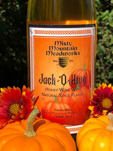 2020 Jack O' Hive Pumpkin Pie Spiced Mead