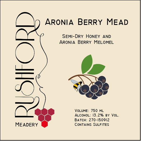 Product Image for 2015 Aronia Berry Mead - 750ml