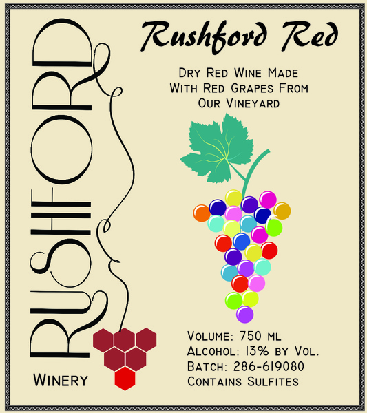 Product Image for 2016 Rushford Red - 750mL