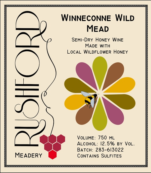 2016 2016 Winneconne Wild Mead - 375mL