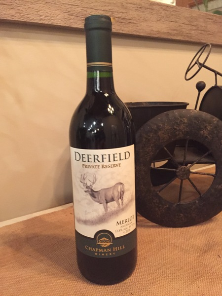 2018 Deerfield Private Reserve Merlot