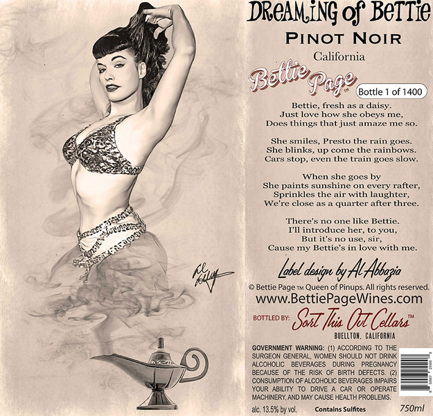 Product Image for Dreaming of Bettie Pinot Noir