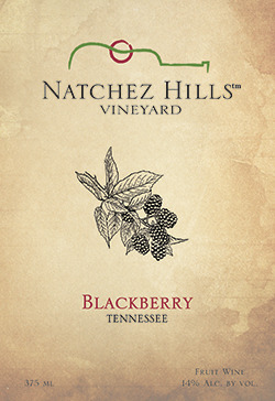 2017 Blackberry Wine